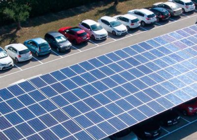 Proyecto Instalación Marquesina Solar
